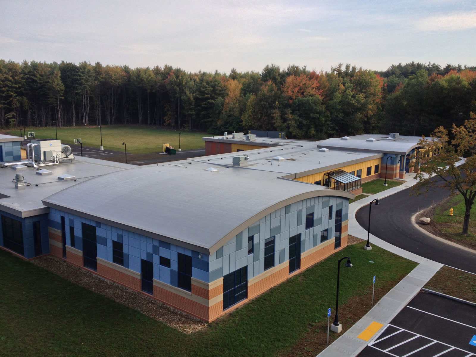 Boys and Girls Club Fitchburg-Leominster roofing project - 1