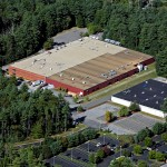 Bedford manufacturing roofing project - 1