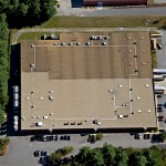Bedford manufacturing roofing project - 2