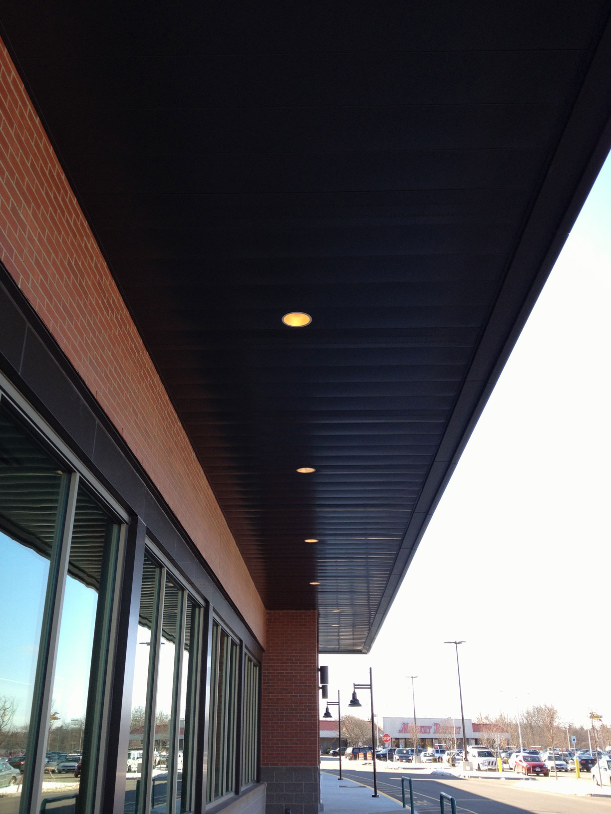 Metal Soffit Installation